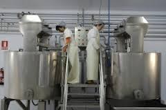 exportación de leche
